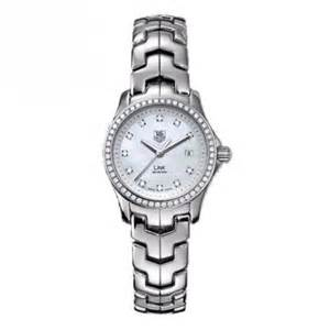 TAG Heuer Ladies Link Diamond Mother of Pearl Quartz Watch