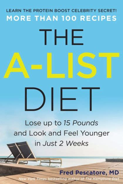 list diet lose    pounds    feel younger    weeks  fred