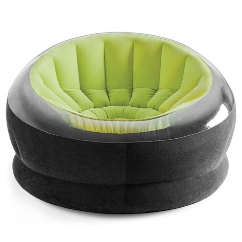 fauteuil de jardin onyx vert 68582npv achat