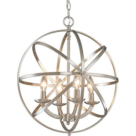 Circular Chandelier Lighting 17 Best Ideas About Brushed Nickel On Barn