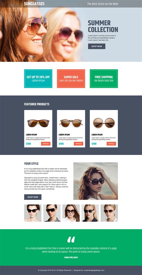design online page ecommerce landing page design added to buylpdesign