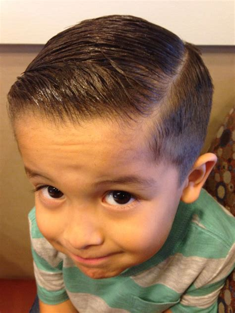 fade haircut boys my little man s fade combover hair cut 1 pinterest