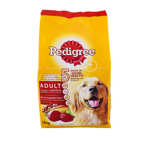 Smart Puppy Beef And Milk Flavour 1 5kg Mirip Pedigree Alpo 1 jaya grocer pedigree beef and vegetable flavored food fresh groceries