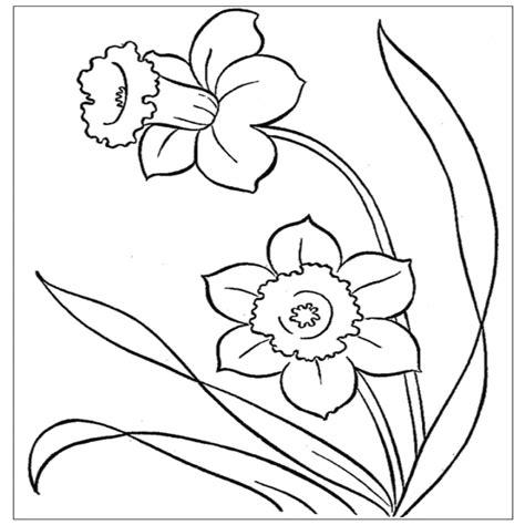 fiore disegni disegni di primavera da colorare portale bambini avec