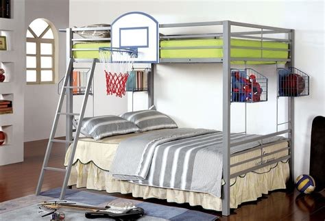 basketball beds basketball design full over full metal bunk bed