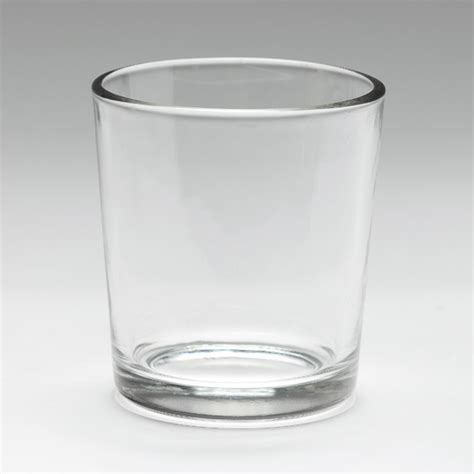 simple glass cylinder votive cup clear votive holder