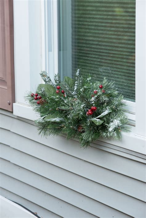28 best pre lit window swags oh christmas tree oh