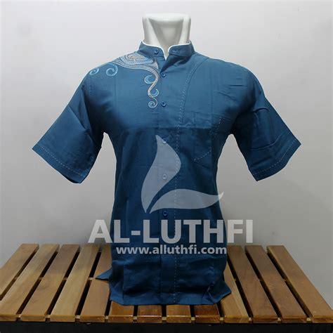 Baju Koko Al Luthfi Bm Al 26 baju koko al luthfi tangan pendek al 007 al luthfi