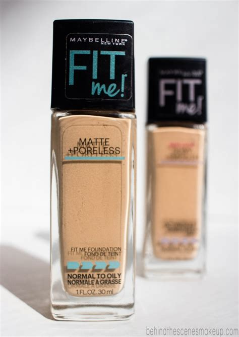 Maybelline Fit Me Foundation Review Harga maybelline fit me foundation review dewy smooth matte poreless