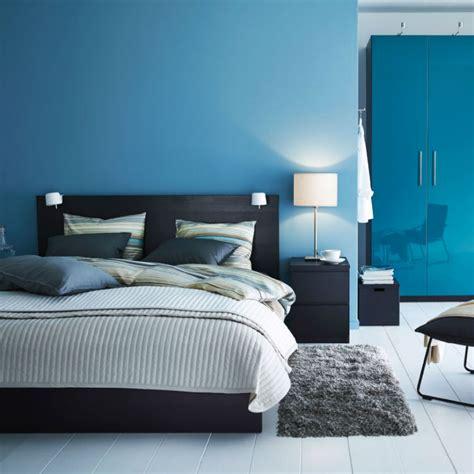 20 Bold Beautiful Blue Wall 20 Chic Scandinavian Bedroom Designs