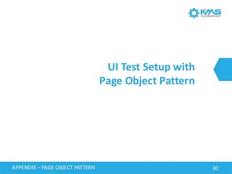 page object pattern coded ui behavior driven development and automation testing using