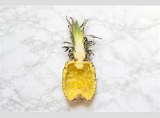 How To Make A Pineapple Boat - A Taste of Koko How To Cut A Pineapple Boat