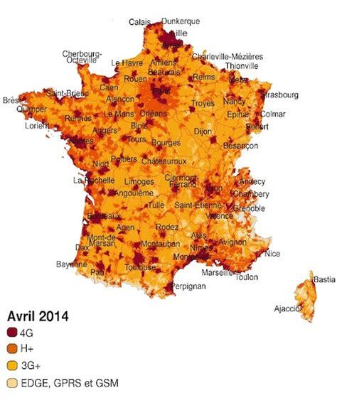 orange couvre 55 de la population en 4g et 77 en h