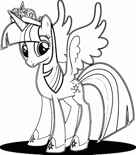 Twilight Sparkle Coloring Pages Twilight Coloring Pages To Print