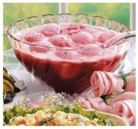 pink sherbet punch baby shower baby shower punch baby shower punch
