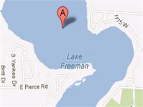 public boat launch lake james indiana freeman lake indiana