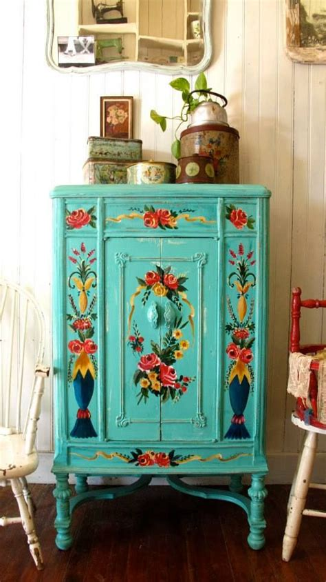 hand painted furniture ideas 96 best ideas about floral painted furniture on