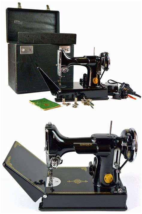 singer featherweight sewing machine 1940s 221 1 portable with unavailable listing on etsy