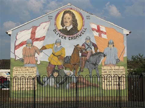 Awesome Persecuted Churches #7: Oliver_Cromwell_mural_%282736627207%29.jpg