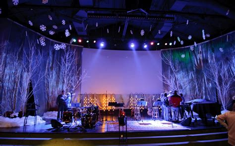 church anniversary stage decoration christmas stage