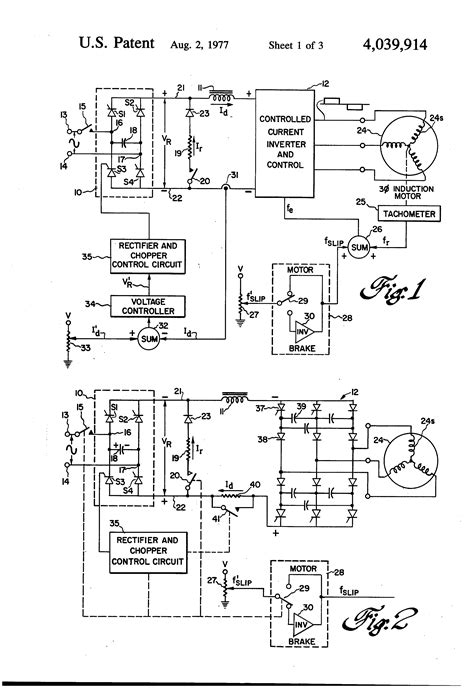 patent us4039914 dynamic braking in controlled current motor drive systems patents