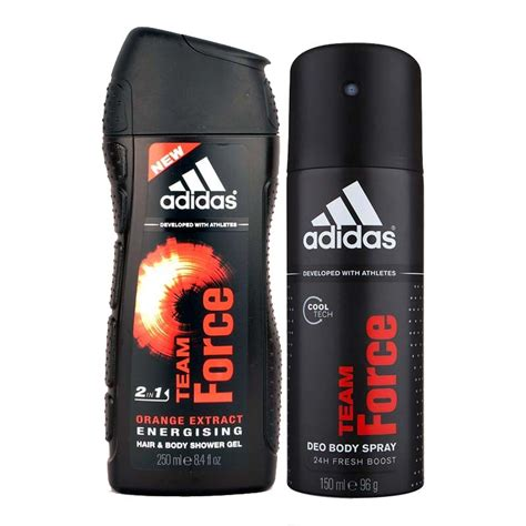 adidas deodorants for men combo pack of 4 assorted buy adidas team force combo of shower gel and deodorant