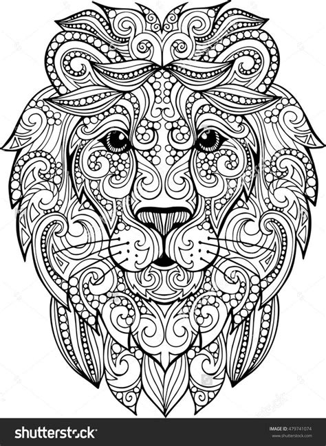 lion coloring page for adults best 25 lion coloring pages ideas on pinterest adult