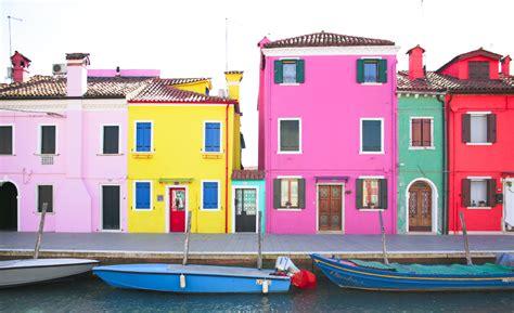 makeyousmilestyle colours  burano island venice