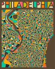Best 25 ideas about philadelphia map find what youll love philadelphia map art freerunsca Gallery