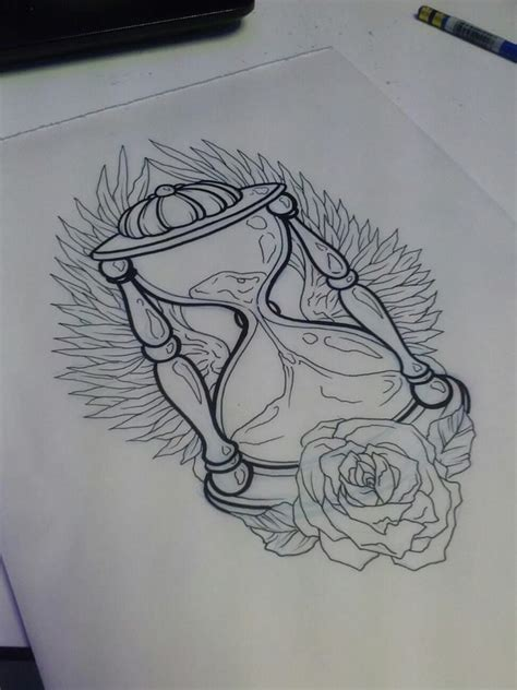 glass tattoo art and designs page 63 winged hourglass drawings hourglass