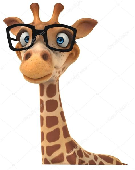 with glasses giraffe with glasses stock photo 28808467