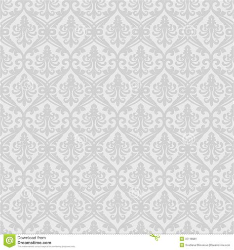 seamless royal pattern vector white seamless royal background stock vector