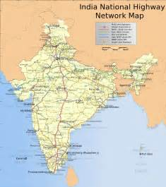 Map Of India With Cities by Map Of India With States And Cities