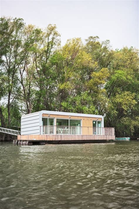 modular houseboat  floating home manufacturers