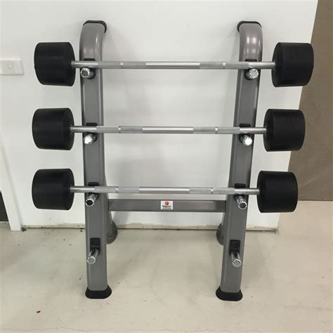 bar bell rack bodytastic bt fitness barbell rack racking