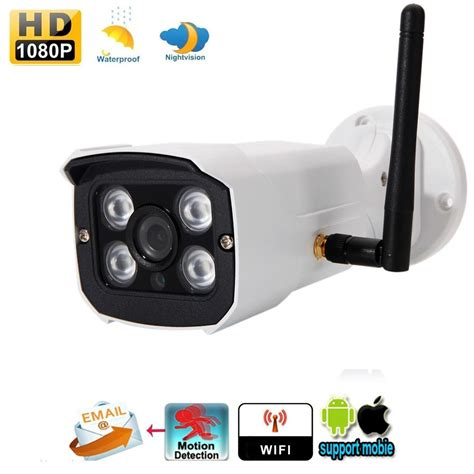 Cctv Sucher 2mp wireless hd 1080p 2mp outdoor wifi ip network cctv security ir day ebay