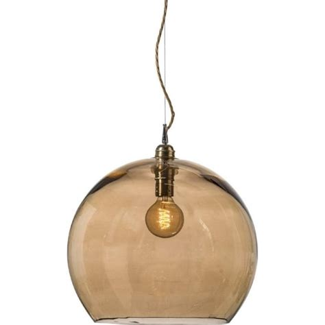 Smoked Glass Pendant Light Gold Smoked Glass Globe Ceiling Pendant Light Fitting With Drop