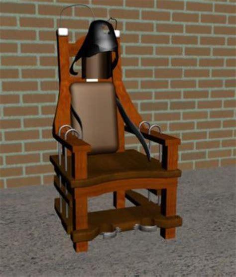 electric chair 3d max 3ds obj fbx 3d model sharecg