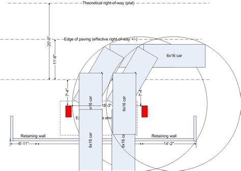 parking garage turning radius pilotproject org