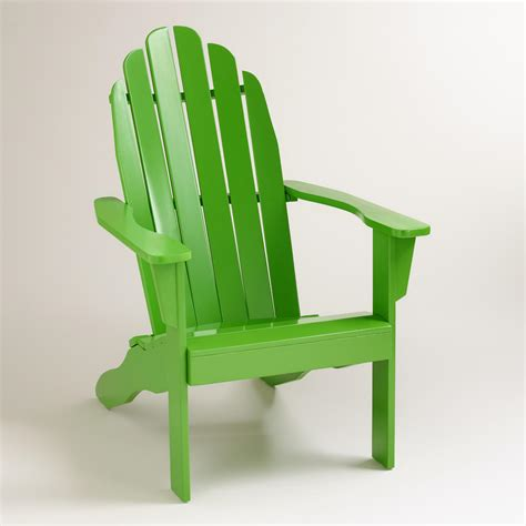 green adirondack chairs lime green adirondack chair world market