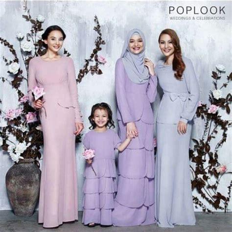 Baju Bridesmaid Warna Biru 17 best images about fashion inspiration kebaya baju kurung batik songket ikat sarongtenun