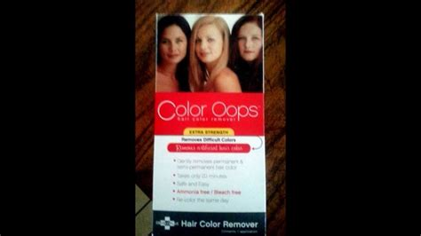 hair color remover cvs using color hair color remover on hair