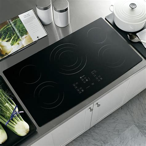 Ge 36 Cooktop Ge Profile Pp975bmbb 36 Quot Built In Electric Cooktop