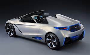 Future Electric Vehicles Models Honda Ev Ster Concept For The Future Of Electric Sports Cars