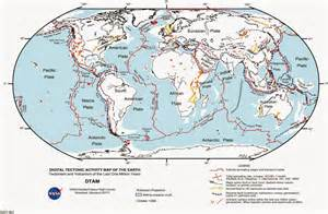 fault lines map world map of fault lines free printable maps