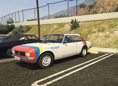 peugeot 504 coupe 1976 peugeot 504 coup 233 add on replace gta5 mods com
