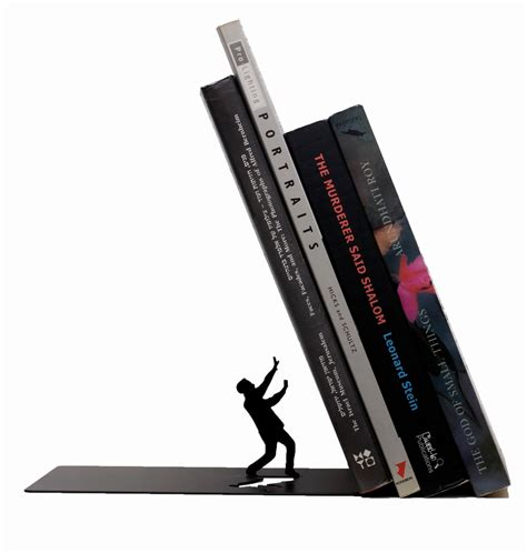 buy bookends 17 eye catching handmade metal bookend designs that make