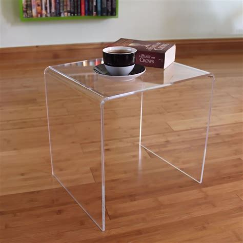 plastic coffee table clear acrylic plastic table bedside table coffee table