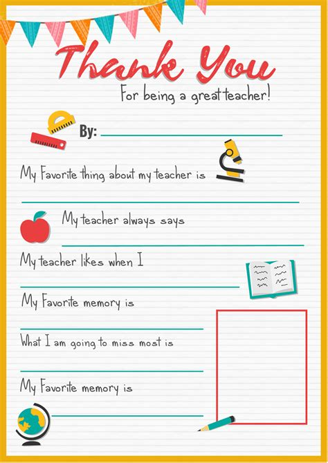 printable thank you notes from teachers to students thank you teacher a free printable stay at home mum