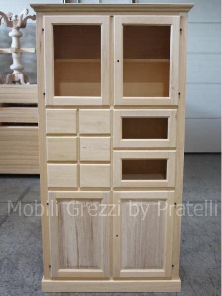mobili in legno grezzo da dipingere dispense grezze mobile dispensa in legno grezzo